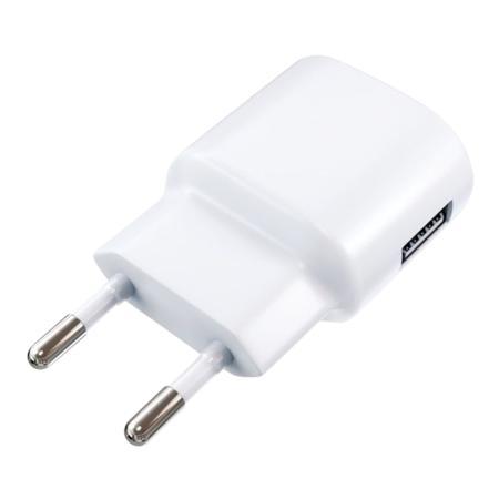 Фото - Сетевое зарядное устройство Red Line ТС-1A 1A USB белый 453432 сетевое зарядное устройство continent zn10 194rd 1a usb красный