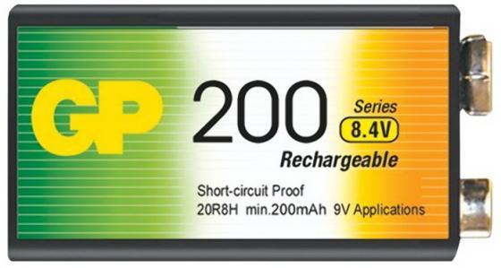 Аккумулятор 200 mAh GP 20R8H-2CRU1 20R8H 1 шт