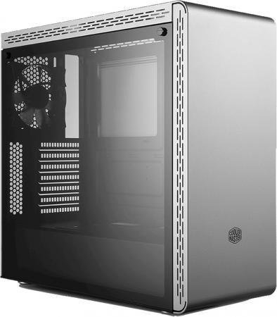цена на Cooler Master MasterBox MS600, 2xUSB3.0, 1x120fan, w/o PSU, Silver, ATX