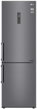 Холодильник LG GA-B459BLGL графит