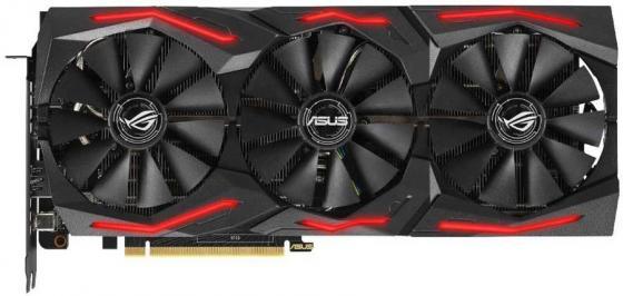 Видеокарта Asus PCI-E ROG-STRIX-RTX2060S-A8G-EVO-GAMING nVidia GeForce RTX 2060SUPER 8192Mb 256bit GDDR6 1500/14000/HDMIx2/DPx2/Type-Cx1/HDCP Ret