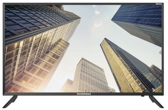 Фото - Телевизор LED Soundmax SM-LED39M01 (черный) вешалка гардеробная на колесах мебелик пико 23 черный
