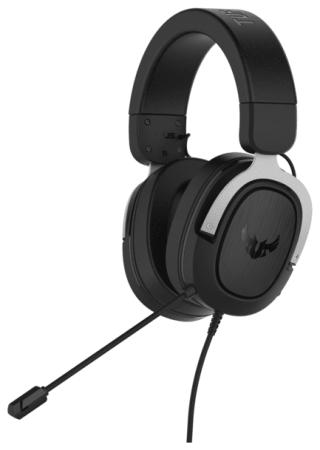 Фото - Игровая гарнитура проводная ASUS TUF Gaming H3 черный серый 90YH025S-B1UA00 игровая
