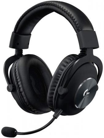 лучшая цена Игровая гарнитура проводная Logitech G PRO X Gaming Headset черный 981-000818