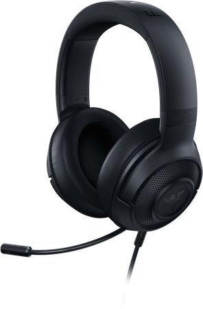Игровая гарнитура проводная Razer Kraken X Lite черный RZ04-02950100-R381 цена и фото