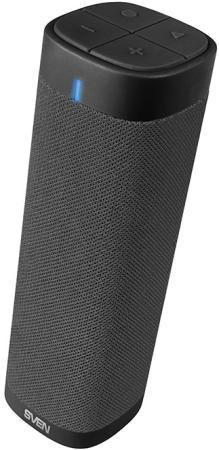 цена на SVEN PS-115, черный, акустическая система (2.0, мощность 2x5 Вт (RMS), Bluetooth, FM, USB, microSD, встроенный аккумулятор)
