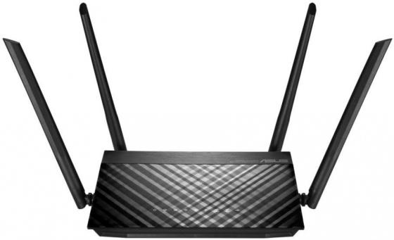 Беспроводной маршрутизатор ASUS RT-AC59U 802.11abgnac 1467Mbps 2.4 ГГц 5 ГГц 4xLAN USB черный беспроводной маршрутизатор asus rt ac 5300