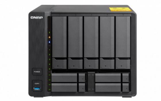 channel QNAP TS-932X-2G 9-Bay NAS, AL324 64-bit 4-core 1.7GHz, 8GB DDR4 2400 (1 x 8 GB) up to 16 GB (1 x 16 GB), 5 x 3.5 and 4 x 2.5 drive slots, 2 x 10GbE SFP+ LAN, 2 x GbE