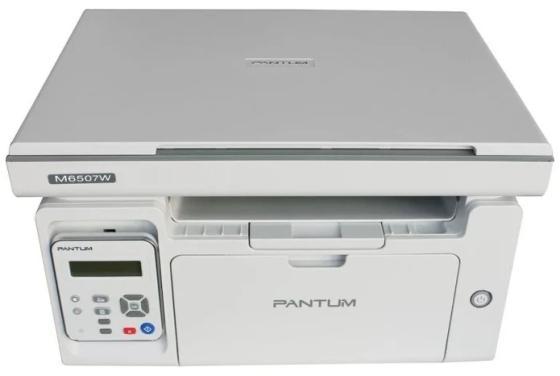 Фото - МФУ Pantum M6507W (лазерное, ч.б., копир/принтер/сканер, 22 стр/мин, 1200?1200 dpi, 128Мб RAM, лоток 150 стр, Wi-|Fi, USB, серый корпус) мфу лазерное pantum m6607nw черный