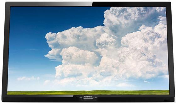 "Телевизор LED 24"" Philips 24PHS4304/60 черный 1366x768 60 Гц VGA USB SCART philips 48pft4100 60"