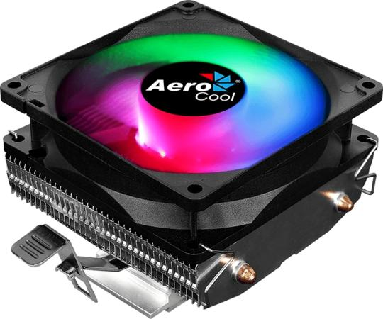 Устройство охлаждения(кулер) Aerocool Air Frost 2 Soc-FM2+/AM2+/AM3+/AM4/1150/1151/1155/2011/ 3-pin 26dB Al+Cu 110W 250gr LED Ret