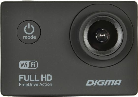 Видеорегистратор Digma FreeDrive Action Full HD WiFi черный 1.2Mpix 1080x1920 1080p 140гр.