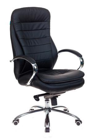 Кресло руководителя Бюрократ T-9950/BLACK-PU сиденье черный искусственная кожа крестовина хром кресло руководителя college h 9582l 1k экокожа крестовина хром подлокотники кожа хром черный