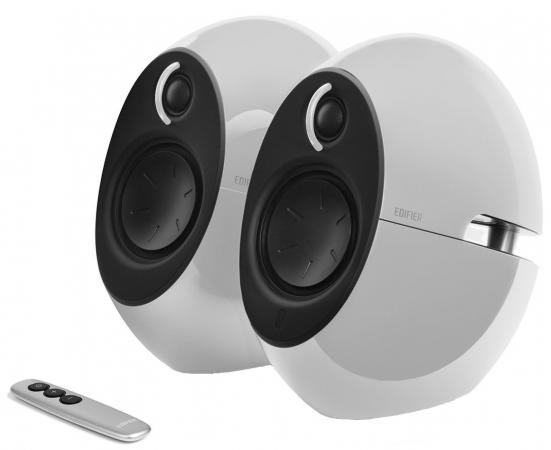 Колонки Edifier E25HD White (2.0,74Вт RMS,Bluetooth v4,пульт ДУ)