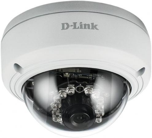 Камера IP D-Link DCS-4602EV/UPA/B1A 2 Мп внешняя купольная антивандальная сетевая Full HD-камера, день/ночь, c ИК-подсветкой до 20 м, PoE, WDR и слот цена
