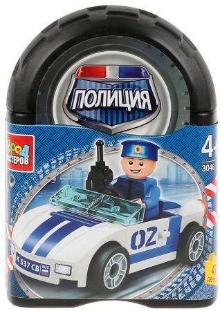 цена на Конструктор Город мастеров полицейская машина 47 элементов
