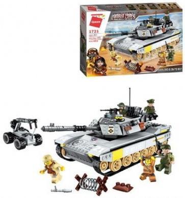 Конструктор ENLIGHTEN BRICK военный танк 482 элемента все цены