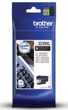 Фото - Картридж струйный Brother LC3239XLBK черный (5000стр.) для Brother HL-J6000DW/MFC-J5945DW мфу струйный brother mfc j3930dw a3 цветной струйный черный [mfcj3930dwr1]