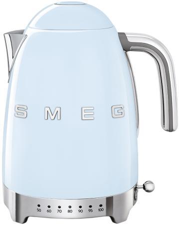 Чайник электрический SMEG KLF04PBEU голубой
