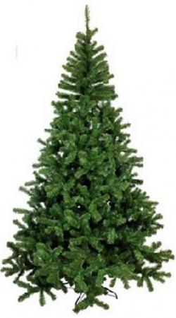 Купить Ель искусственная Сибирская , 240 см, зеленая, 0124, MOROZCO, Праздничная светотехника