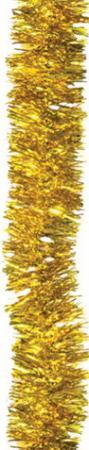 Фото - Мишура 1 штука, диаметр 50 мм, длина 2 м, золото, 4-180-5 мишура одноцветная 30 мм длина 2 м пвх