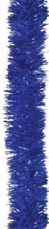 Фото - Мишура 1 штука, диаметр 50 мм, длина 2 м, синяя, 4-180-5 мишура одноцветная 30 мм длина 2 м пвх