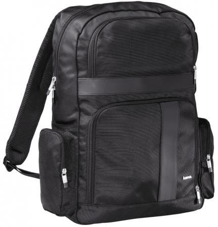 """Рюкзак для ноутбука 17.3"""" HAMA Dublin полиэстер черный 00101780"""