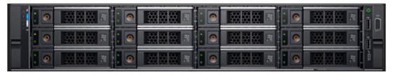 Купить Сервер Dell PowerEdge R540 1x3204 1x16Gb 2RRD x14 2x1Tb 7.2K 3.5 SATA H730p+ LP iD9En 1G 2P 1x1100W 40M NBD 1 FH (R540-2083)