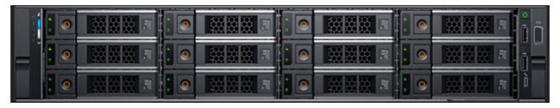 Купить Сервер Dell PowerEdge R540 1x4214 1x16Gb 2RRD x12 1x1Tb 7.2K 3.5 SATA H730p+ LP iD9En 1G 2P 1x1100W 40M NBD 1 FH 3 LP (R540-2137)