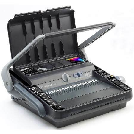 Переплетчик GBC MultiBind 230 (4400423) A4/перф.30л.сшив/макс.450л./пластик.+метал.пруж. (6-51мм) цена и фото