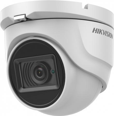 Камера видеонаблюдения Hikvision DS-2CE76H8T-ITMF 6-6мм цветная корп.:белый