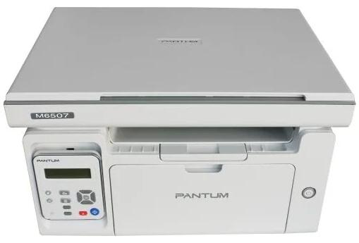 Фото - МФУ Pantum M6507 (лазерное, ч.б., копир/принтер/сканер, 22 стр/мин, 1200?1200 dpi, 128Мб RAM, лоток 150 стр, USB, серый корпус) мфу лазерное pantum m6607nw черный