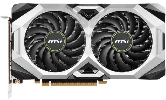 Видеокарта MSI PCI-E RTX 2070 VENTUS GP 8G nVidia GeForce RTX 2070 8192Mb 256bit GDDR6 1410/14000/HDMIx1/DPx3/HDCP Ret