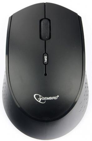Gembird MUSW-353 {Мышь беспроводная, 2,4 Гц, Type-C, черный/т.синий, 3 кнопки+колесо-кнопка, 1600 DPI, блистер} мышь беспров gembird musw 400 g бело золотой бесшумный клик 3кн колесо кнопка 2 4ггц 1600 dpi блистер