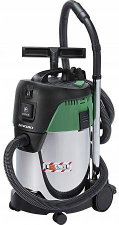HIKOKI Пылесос промышленный, 1200 Вт, 30 л, 7,8 кг, сухая и влажная уборка