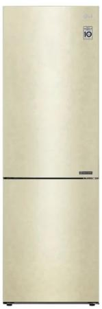 Холодильник LG GA-B509CECL бежевый (двухкамерный)