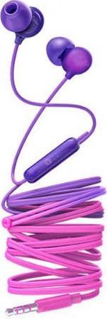 Фото - Гарнитура Philips SHE2405PP/00 Purple Проводные / Внутриканальные с микрофоном / Двустороннее / miniJack 3.5 мм гарнитура philips shl5005 00 черный