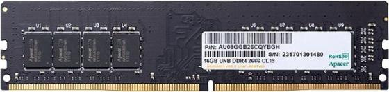Фото - Оперативная память 8Gb (1x8Gb) PC4-21300 2666MHz DDR4 DIMM CL19 Apacer AU08GGB26CQYBGH оперативная память 8gb 1x8gb pc4 21300 2666mhz ddr4 dimm cl19 patriot psd48g266681