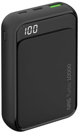 цена на Внешний аккумулятор Deppa NRG Turbo Compact 10000 мАч, QC/PD 3.0 18W, LED экран
