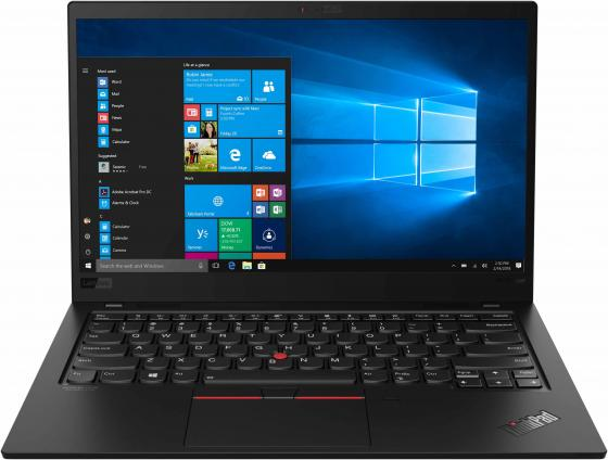 "Ноутбук Lenovo ThinkPad X1 Carbon 7 14"" 1920x1080 Intel Core i7-8565U 512 Gb 16Gb Bluetooth 5.0 Intel UHD Graphics 620 черный Windows 10 Professional 20QD00M2RT ноутбук lenovo thinkpad x1 yoga 14 2560x1440 intel core i7 6600u ssd 512 16gb intel hd graphics 520 черный windows 10 professional 20fq005urt"