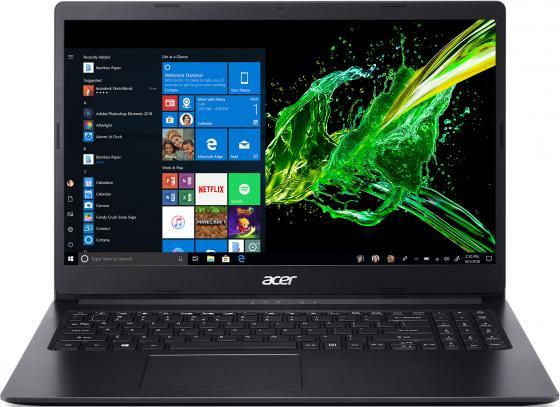 """Ноутбук 15.6"""" FHD Acer Aspire A315-22G-65ST black (AMD A6 9220e/4Gb/256Gb SSD/noDVD/R530 2Gb/W10) (NX.HE7ER.00U) цена"""