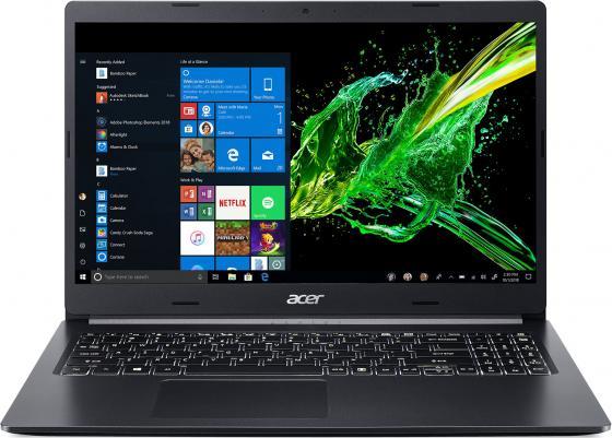 Ноутбук 15.6'' FHD Acer Aspire A515-54-51WF black (Core i5 10210U/8Gb/256Gb SSD/noDVD/VGA int/W10) (NX.HN1ER.002) цена 2017