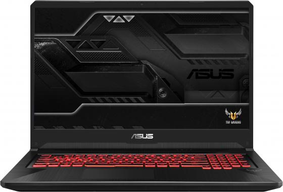 """Ноутбук 17.3"""" IPS FHD Asus ROG FX705DU-H7111T black (AMD Ryzen 7 3750H/8Gb/1Tb/256GB SSD/1660Ti 6Gb/W10) (90NR0281-M03330) цена и фото"""