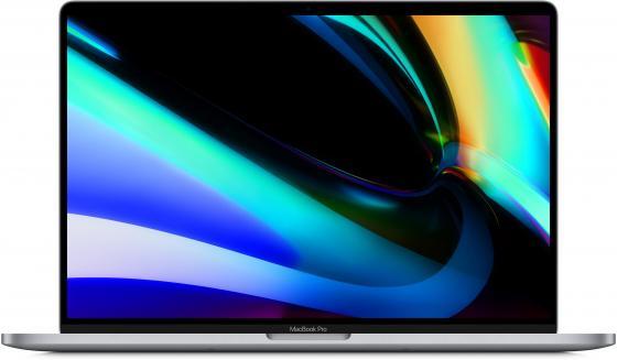 Ноутбук Apple MacBook Pro 16 3072х1920 Intel Core i7-9750H 512 Gb 16Gb Bluetooth 5.0 AMD Radeon Pro 5500M 4096 Мб серый macOS Z0XZ001FK