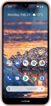 "Смартфон NOKIA 4.2 розовый 5.71"" 32 Гб LTE Wi-Fi GPS 3G Bluetooth смартфон lenovo sisley s90 серый графитовый 5 32 гб lte wi fi gps 3g p0s3000nru"