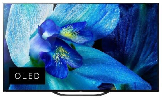 цена на Телевизор OLED Sony 55 KD55AG8BR2 BRAVIA черный/серебристый/Ultra HD/100Hz/DVB-T/DVB-T2/DVB-C/DVB-S/DVB-S2/USB/WiFi/Smart TV