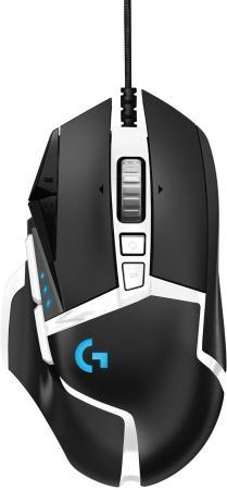 Фото - Мышь проводная Logitech G502 SE HERO чёрный белый USB мышь logitech g502 hero игровая оптическая проводная usb белый и черный [910 006097]