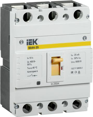 Iek SVA4410-3-0250 Авт. выкл. ВА44 35 3Р 250A 15кА