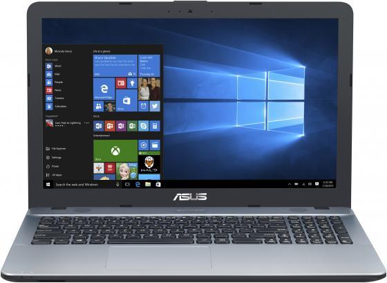"Ноутбук Asus VivoBook X541SA-XO687T Pentium N3700/4Gb/500Gb/Intel HD Graphics/15.6""/HD (1366x768)/Windows 10/silver/WiFi/BT/Cam ноутбук asus x541sa 90nb0ch1 m04950"