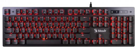 лучшая цена Клавиатура проводная A4TECH Bloody B500 USB черный